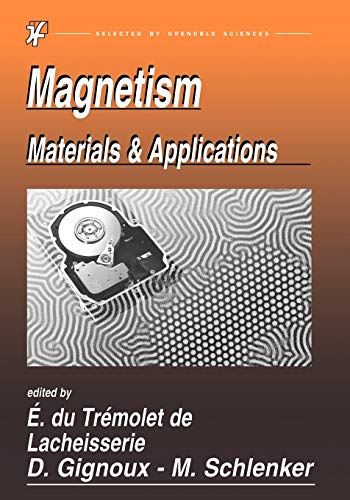 9780387230009: Magnetism: Materials And Applications