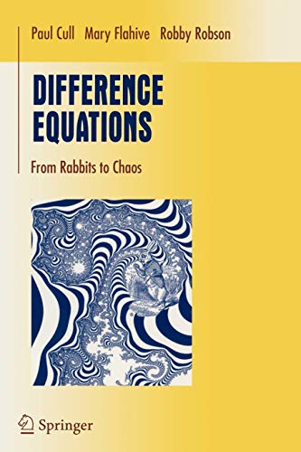9780387232348: Difference Equations: From Rabbits to Chaos (Undergraduate Texts in Mathematics)