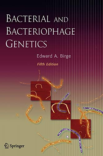 9780387239194: Bacterial and Bacteriophage Genetics