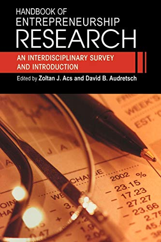 9780387240800: Handbook of Entrepreneurship Research: An Interdisciplinary Survey and Introduction (International Handbook Series on Entrepreneurship)