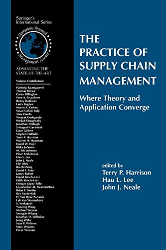 The Practice of Supply Chain Management: Where