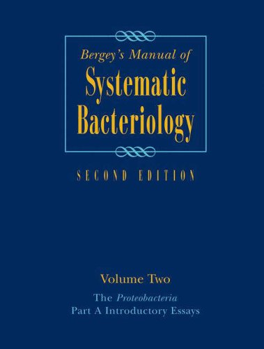 9780387241432: Bergey's Manual® of Systematic Bacteriology: Volume Two: The Proteobacteria, Part A Introductory Essays: Proteobacteria v. 2 (Bergey's Manual of Systematic Bacteriology (Springer-Verlag))