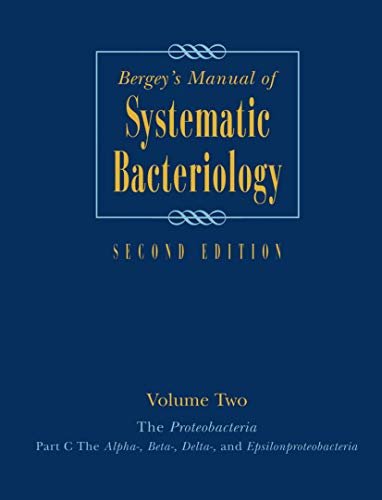 Bergey's Manual of Systematic Bacteriology, Vol. 2: George Garrity