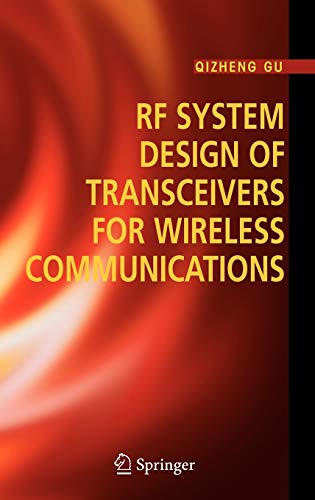 9780387241616: RF System Design of Transceivers for Wireless Communications