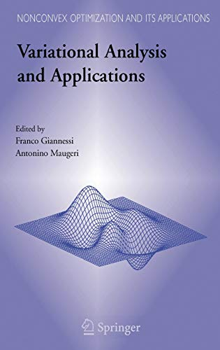 Variational Analysis and Applications (Hardback)