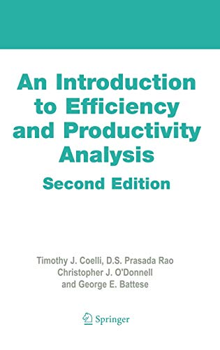 9780387242651: An Introduction to Efficiency and Productivity Analysis