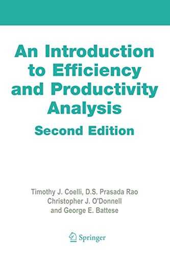 9780387242668: An Introduction to Efficiency and Productivity Analysis