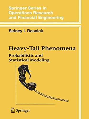 9780387242729: Heavy-Tail Phenomena: Probabilistic And Statistical Modeling