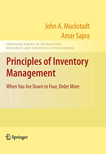 Principles of Inventory Management: When You Are: Muckstadt, John A.;