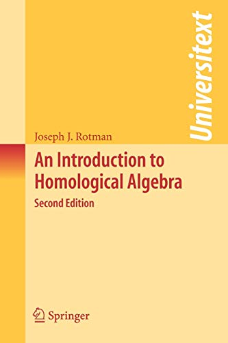 9780387245270: An Introduction to Homological Algebra
