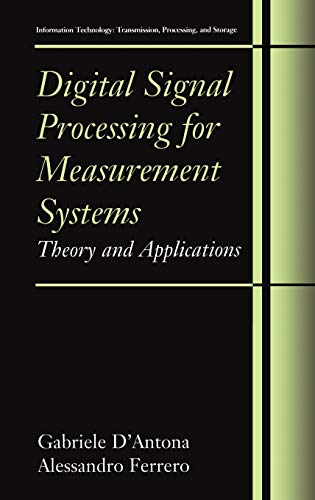 9780387249667: Digital Signal Processing for Measurement Systems: Theory And Applications