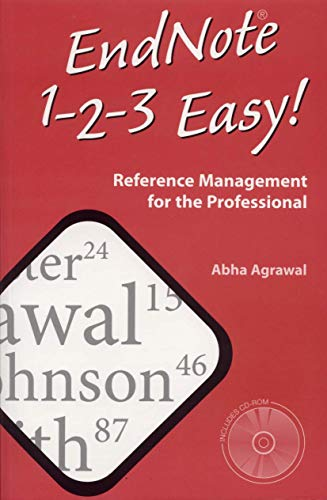 9780387249919: EndNote 1 - 2 - 3 Easy!: Reference Management for the Professional
