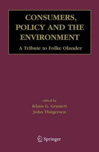 Consumers, Policy and the Environment: Klaus G. Grunert