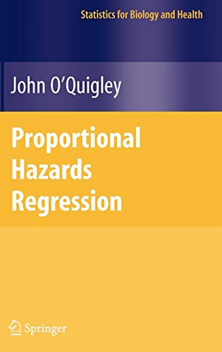 9780387251486: Proportional Hazards Regression (Statistics for Biology and Health)