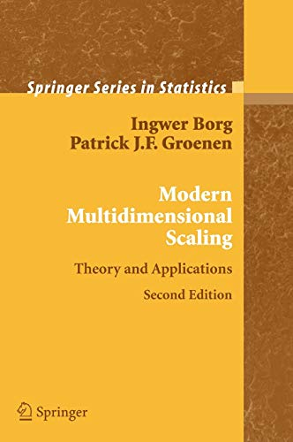9780387251509: Modern Multidimensional Scaling: Theory and Applications (Springer Series in Statistics)