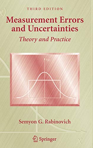 9780387253589: Measurement Errors and Uncertainties: Theory and Practice