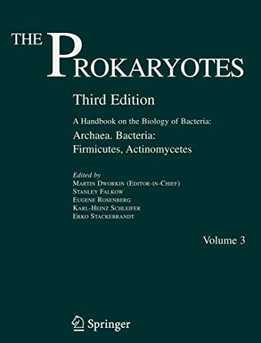9780387254937: The Prokaryotes: A Handbook on the Biology of Bacteria: Archaea And Bacteria: Firmicutes, Actinomycetes: 3