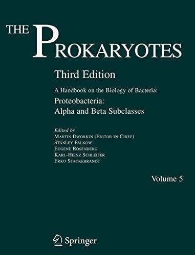9780387254951: The Prokaryotes, Vol. 5: Proteobacteria: Alpha and Beta Subclasses