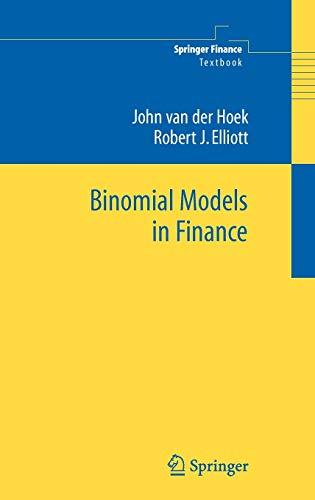 9780387258980: Binomial Models in Finance (Springer Finance)