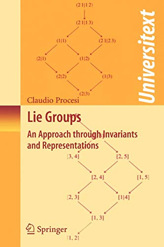 9780387260402: Lie Groups: An Approach Through Invariants And Representations