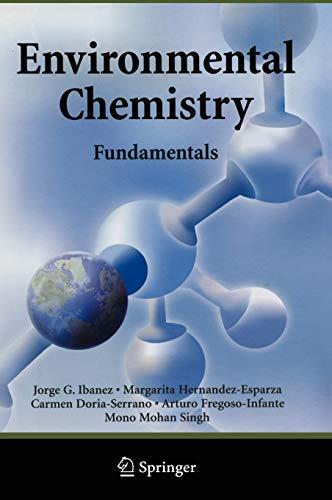 9780387260617: Environmental Chemistry: Fundamentals