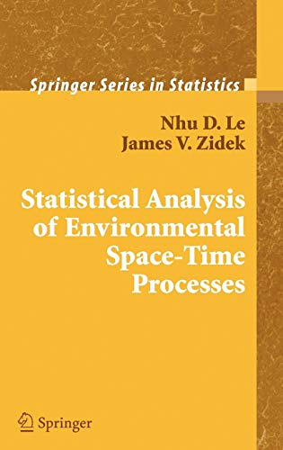 9780387262093: Statistical Analysis of Environmental Space-Time Processes (Springer Series in Statistics)