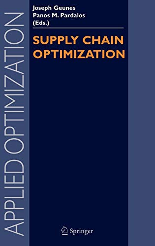 9780387262802: Supply Chain Optimization (Applied Optimization)