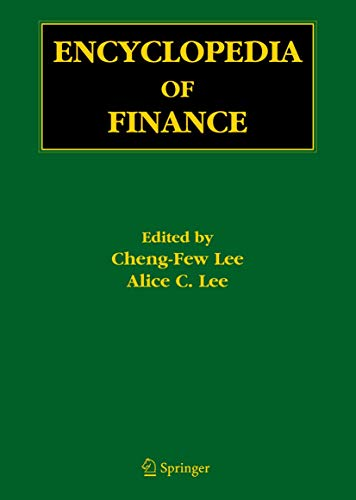 9780387262840: Encyclopedia of Finance