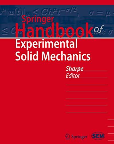 9780387268835: Springer Handbook of Experimental Solid Mechanics (Springer Handbooks)