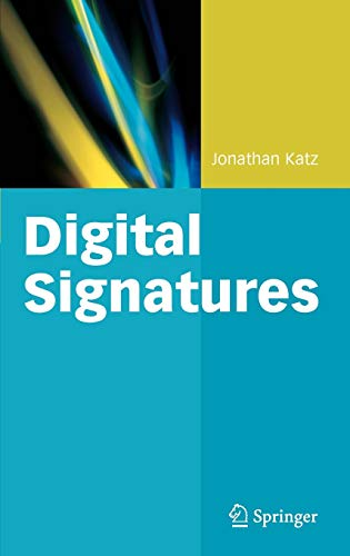 9780387277110: Digital Signatures (Advances in Information Security)