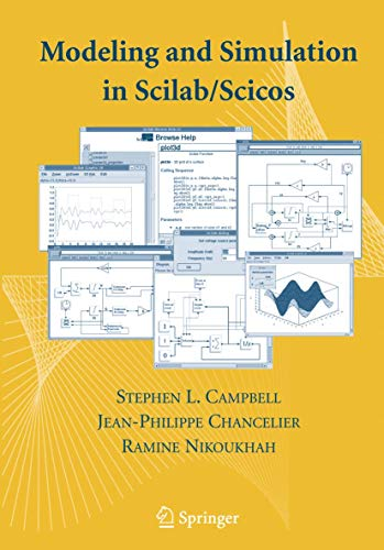 9780387278025: Modeling and Simulation in Scilab/Scicos with ScicosLab 4.4