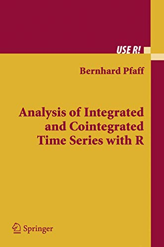 9780387279596: Analysis of Integrated and Cointegrated Time Series with R (Use R)