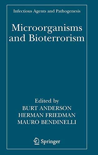 Microorganisms and Bioterrorism: Herman Friedman
