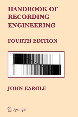 9780387284705: Handbook of Recording Engineering