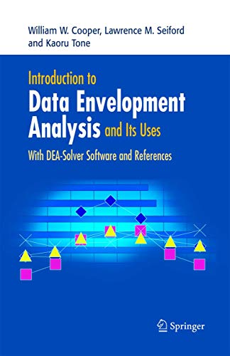 9780387285801: Introduction to Data Envelopment Analysis And Its Uses: With DEA-Solver Software And References