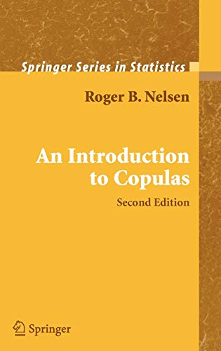 9780387286594: An Introduction to Copulas (Springer Series in Statistics)