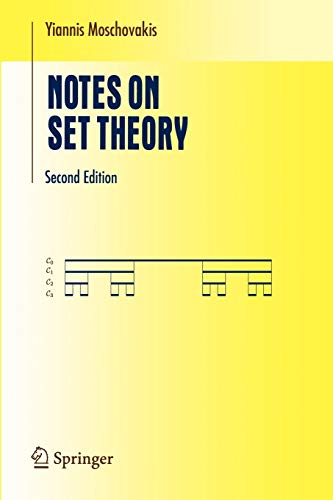 9780387287232: Notes on Set Theory (Undergraduate Texts in Mathematics)