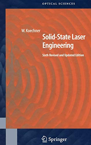 9780387290942: Solid-State Laser Engineering (Springer Series in Optical Sciences)