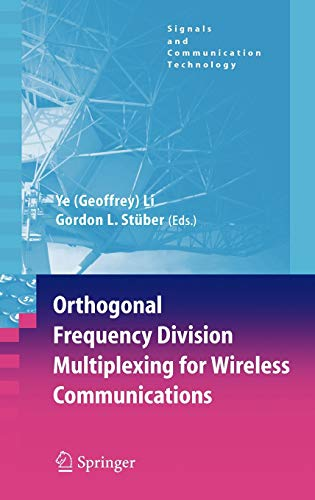 9780387290959: Orthogonal Frequency Division Multiplexing for Wireless Communications (Signals and Communication Technology)