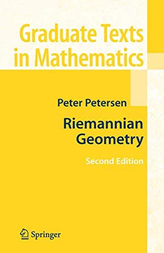 9780387292465: Riemannian Geometry (Graduate Texts in Mathematics, Vol. 171)