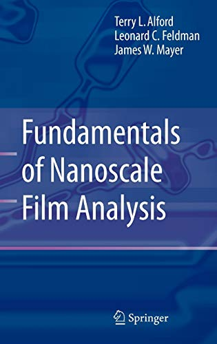 9780387292601: Fundamentals of  Nanoscale Film Analysis