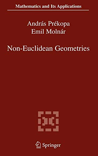 9780387295541: Non-Euclidean Geometries: János Bolyai Memorial Volume (Mathematics and Its Applications)