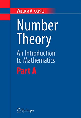 9780387298511: Number Theory: An Introduction to Mathematics: Part A