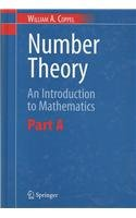 9780387300191: Number Theory: An Introduction to Mathematics: Pt. A&B