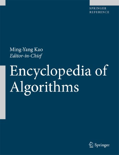 9780387301624: Encyclopedia of Algorithms