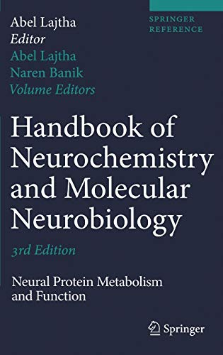 9780387303468: Handbook of Neurochemistry and Molecular Neurobiology: Neural Protein Metabolism and Function (Springer Reference)