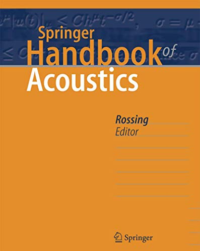 9780387304250: Springer Handbook of Acoustics
