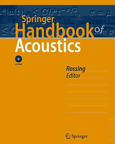 9780387304465: Springer Handbook of Acoustics