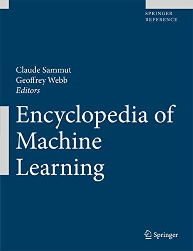 9780387307688: Encyclopedia of Machine Learning