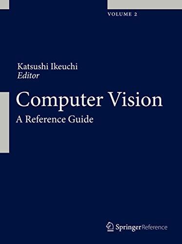 Computer Vision: A Reference Guide: Springer